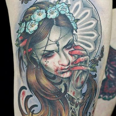 Walde scum-art - Lucky Six Tattoo BerlinDeutschlandBerlin