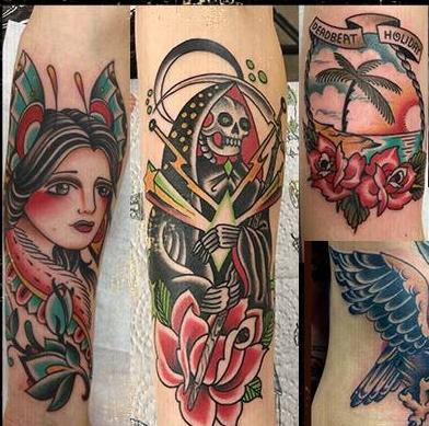 Carlos - Free Bird TattooNiederlandeEindhoven