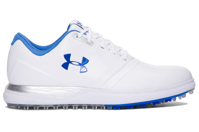 Under Armour Performance Ladies Spikeless Shoes white.png