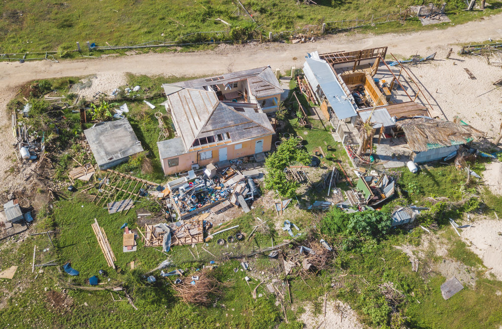 Dominican's Housing Minister, Reginald Austrie reported that 90 percent of all homes were damaged by Hurricane Maria.