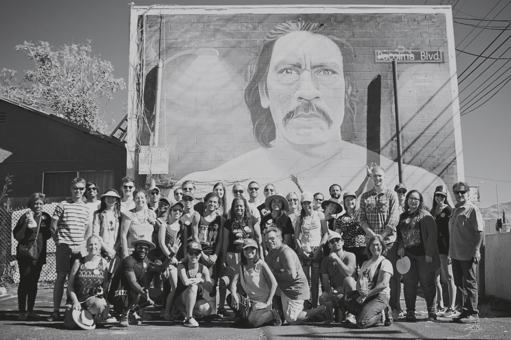 Our Community - We commit to partnering with our local community to learn about problems and needs from those who face them; to designing our work with an eye towards scale and repeatability; and to supporting each other through the challenges we encounter. We are committed to working with other stakeholders in Los Angeles!