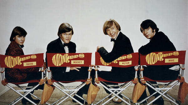 The Monkees on set [Source: Columbia Pictures Television]