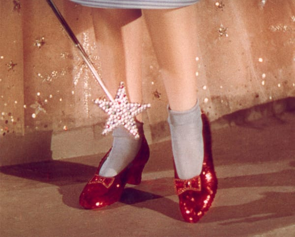 Dorothy's ruby slippers from 'The Wizard of Oz' [Source: Metro-Goldwyn-Mayer]