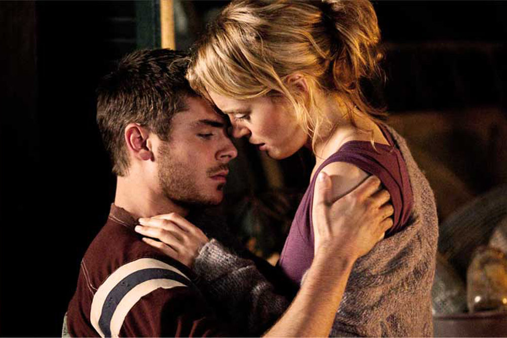Zac Efron and Taylor Schilling in 'The Lucky One' (2012) [Source: Warner Bros. Pictures]