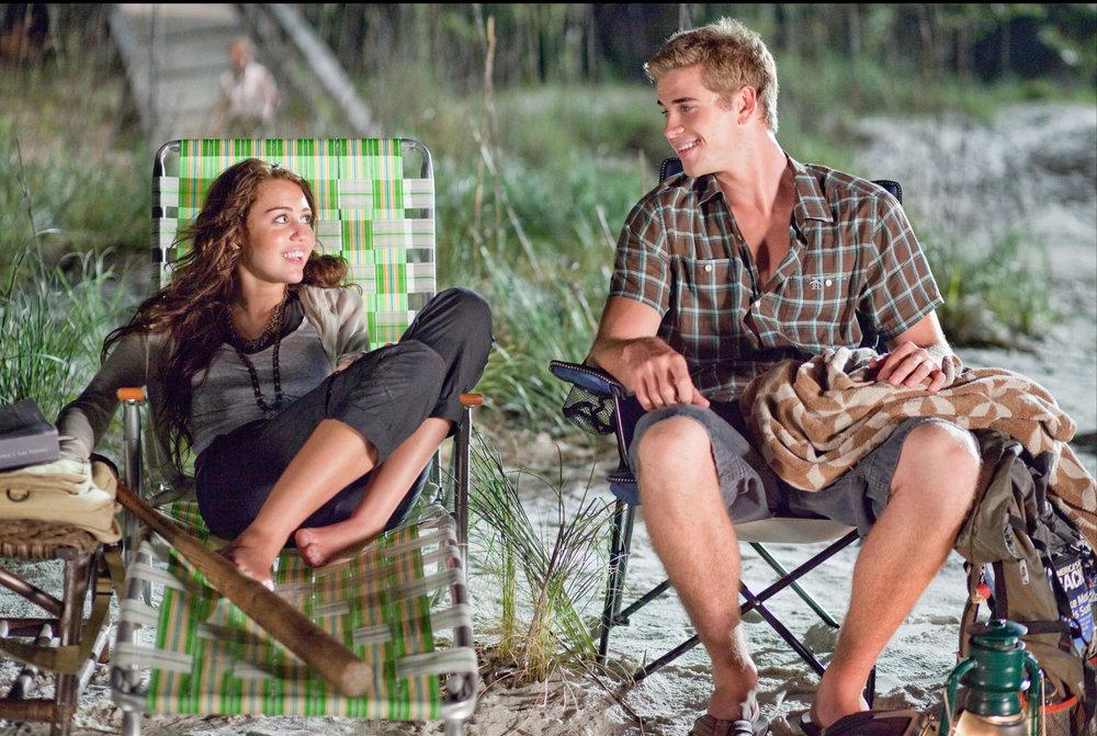 Miley Cyrus and Liam Hemsworth in 'The Last Song' (2010) [Source: Walt Disney Studios]