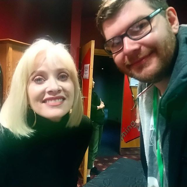 Barbara Crampton. Film Daddy interview coming to you soon. 😉 - - #film #films #indiefilm #indiefilms #filmmakers #filmmaker #indiefilmmakers #indiefilmmaker #filmblog #moviecritic #moviereview #moviereviews #movies #movie #classicfilm #comedy #comedyfilm #shortfilm #podcast #podcastrecommendations #podcastrecs #newpodcast #grimmfest #barbaracrampton
