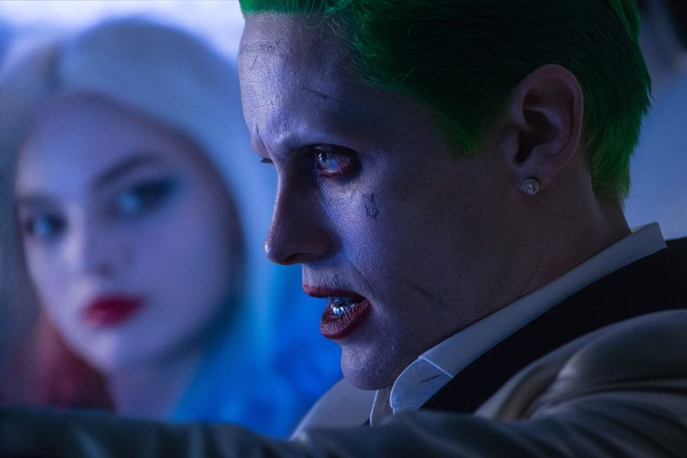 Jared Leto as The Joker in  Suicide Squad  (2016) [Source: Warner Brothers]