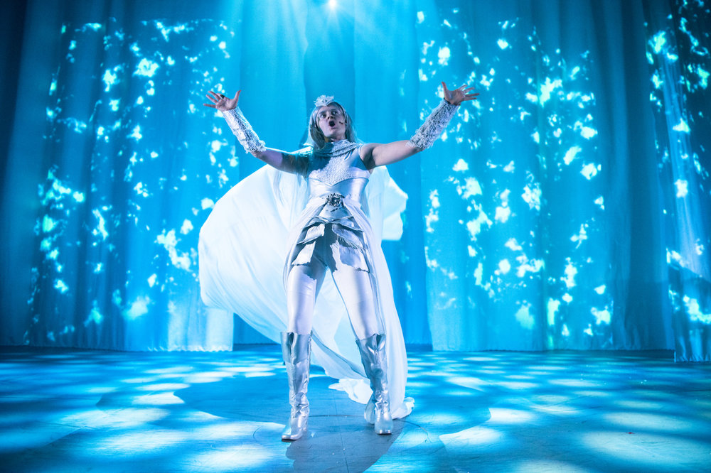 THE SNOW QUEEN, Dundee Rep Theatre (2018) Photographer: Tommy Ga-Ken Wan