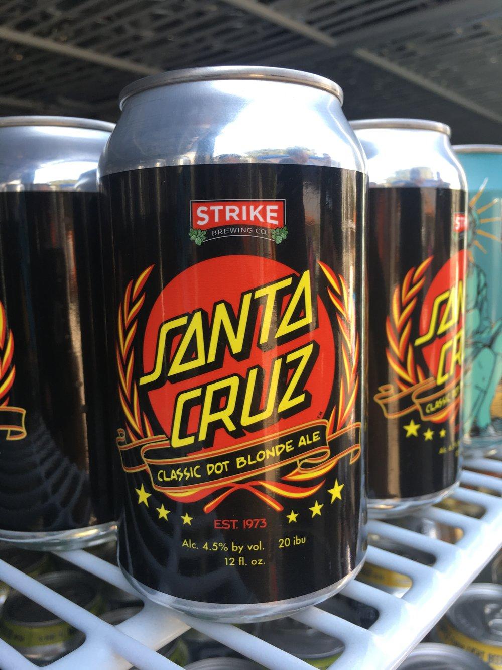 Strike Brewing - Santa Cruz Classic Dot Blonde Ale