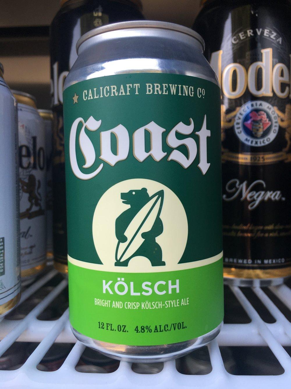 Calicraft Brewing - Coast Kolsch
