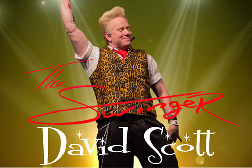 """David Scott is a entertainer and showman with a show that has been called """"Sharp-witted"""", """"Clever"""", """"Classy"""" and """"Pure Energy."""