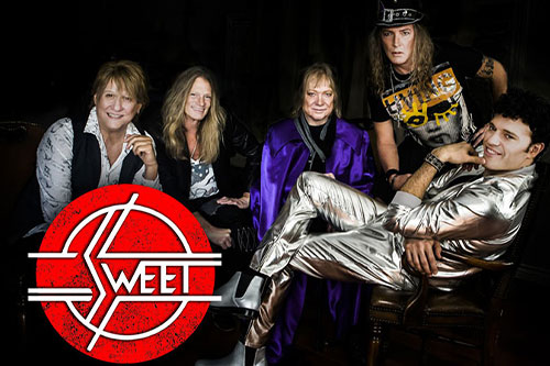 "Legendary rock band The Sweet shot to the top of the charts in the 1970s with such hits as ""Ballroom Blitz,"" ""Fox on the Run"" and MORE!"