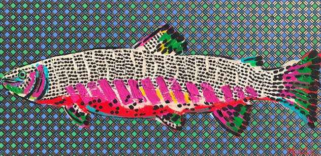 Fish 1 A Marian Pouch Find Your Joy Greenville SC Local artist painting acrylic bright color colorful..jpg