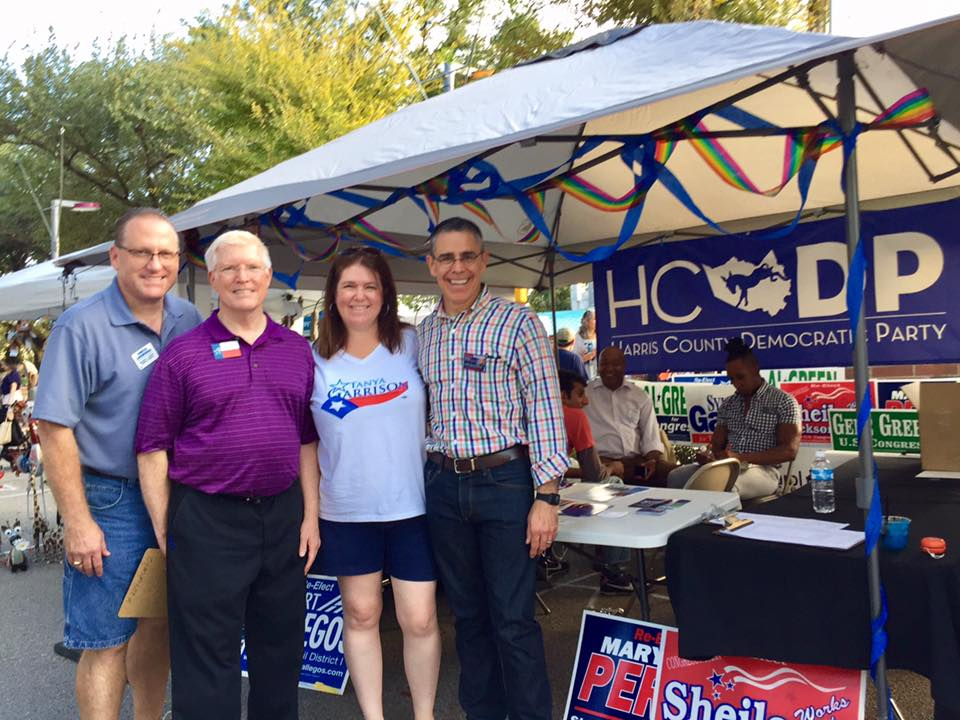 Harris County Democratic Party at Houston's EastEnd Fest