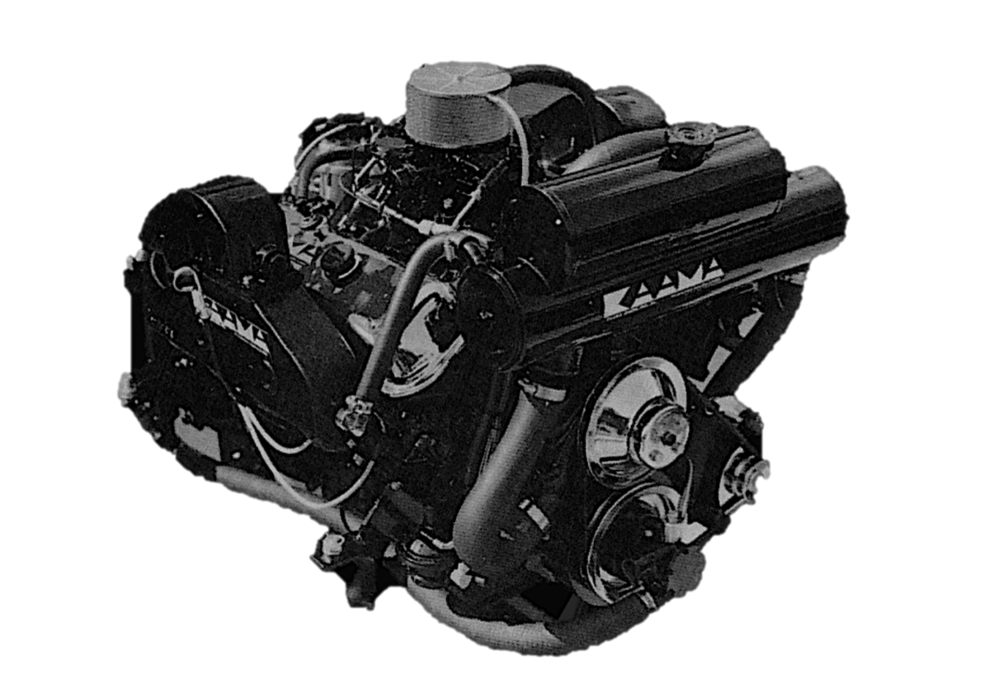 "KAAMA Power Systems ""competition type"" engine"