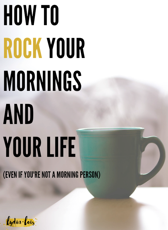 Feel like you can never stop hitting snooze? Constantly feel like your mornings are wasted by scrolling through your feed procrastinating the day? Let me help rock your mornings with developing the right habits to rock your life!