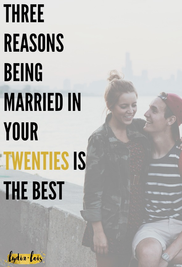 Has someone ever told you that you are too young to settle down? That you are too young to be married in your twenties? Well I'm here to tell you that in fact your twenties is the best time to marry and be married! Let's all give a collective tongue stuck out to those naysayers! (Like the true mature adult we are!) ;)