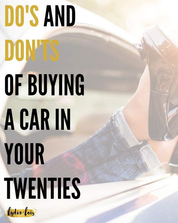 Being a young twenty something has its perks. You get to do all the adult things by yourself. What else does that mean? The not so fun adult things and responsibilities like buying a new-to-you car. Let me take the weight off a bit and give you some tips for having a successful car buying experience. Click through to for all the information!