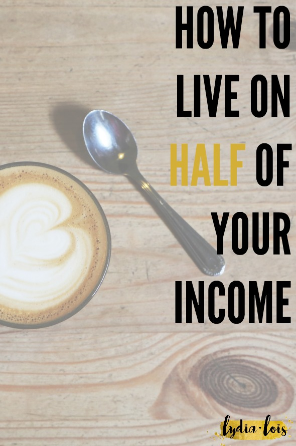 Have you tried budgeting, cutting back, coupons, and all the like! Well have you ever tried to live on half your income? As crazy as it sounds it can be done and can help to build savings and wealth in your twenties. Let me show you how and give you a free workbook to start!
