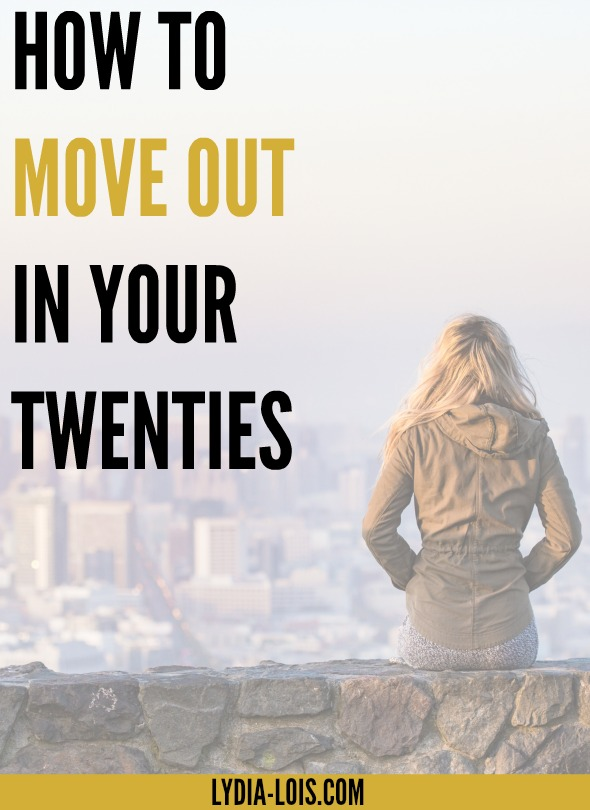 If you're tired of living in your parents house but think you are too broke to afford living on your own, think again. It's work to live on your own, but it can be done. Let me help teach you how to move out in your twenties!