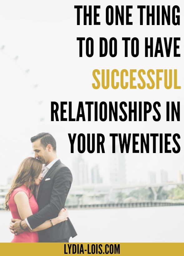 The one mistake you are making in your relationships could be the one thing that could save them! Whether it is your boyfriend, girlfriend, best friend, or family member, we all have relationships that could benefit from a little attention. Let me help direct you in the right way with this one key to have successful relationships in your twenties! Find out what it is!
