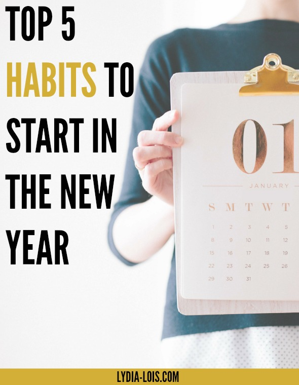 In the New Year we are all looking for resolutions, goals, plans, and habits to start. With so much information out there and generally good advice it is hard to pick! I've narrowed it down to the top five habits you should start in the new year, especially if you are in your twenties!