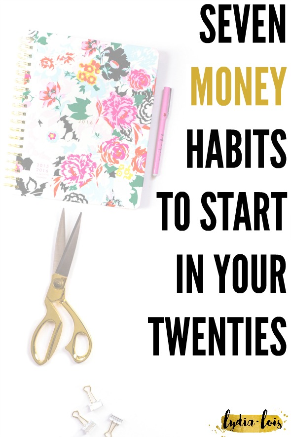 Building habits can be hard and when they involve your finances ever harder. Let me help by telling which seven money habits to start in your twenties and why! Click through to read about budgets, savings, and what it means to invest!