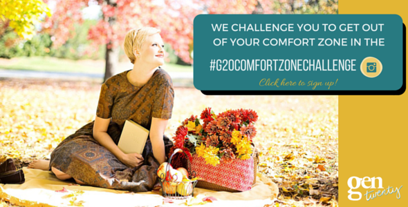 A FREE 7 day challenge to get you outside your comfort zone fast!