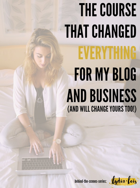 If you are tired of googling for blogging tips and how to grow your blog traffic or email list or pinterest followers (the list goes on and on) look no further. All in one place, this course changed my newbie blog into a full grown adult pulling in page views and growing a following like a boss. It can do the same for you. Click through to read my in depth review and results!