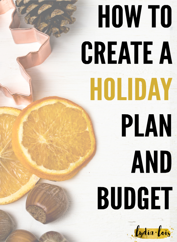 If the holidays coming don't evoke general feelings of joy and instead bring on stress of money and how you are going to buy everyone gifts and feed them at the same time, well then this article is for you. It talks exactly how to budget not just gifts for the holidays but the food you need to make and outings you want to participate in. If you are a planner or if you want to be a holiday planner then how to create a holiday plan and budget is perfect for you! Click through to read now!