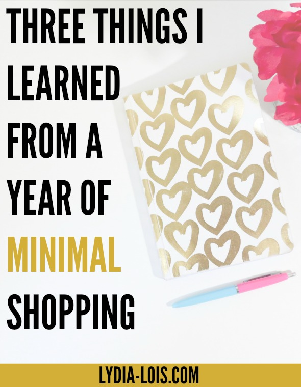 Want to learn from my experience of minimal shopping without having to do it yourself? Or want to challenge your spending habits? Click through to read all about it!