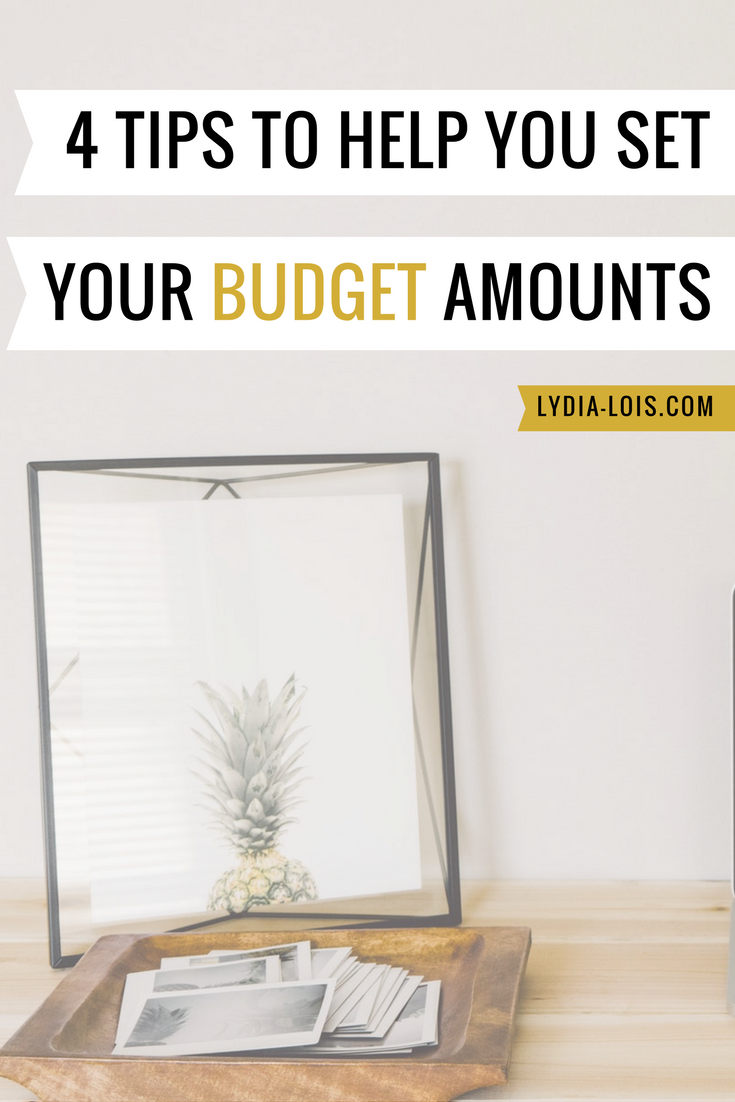 4 tips to help you set your budget amounts saving money spending budgeting.png