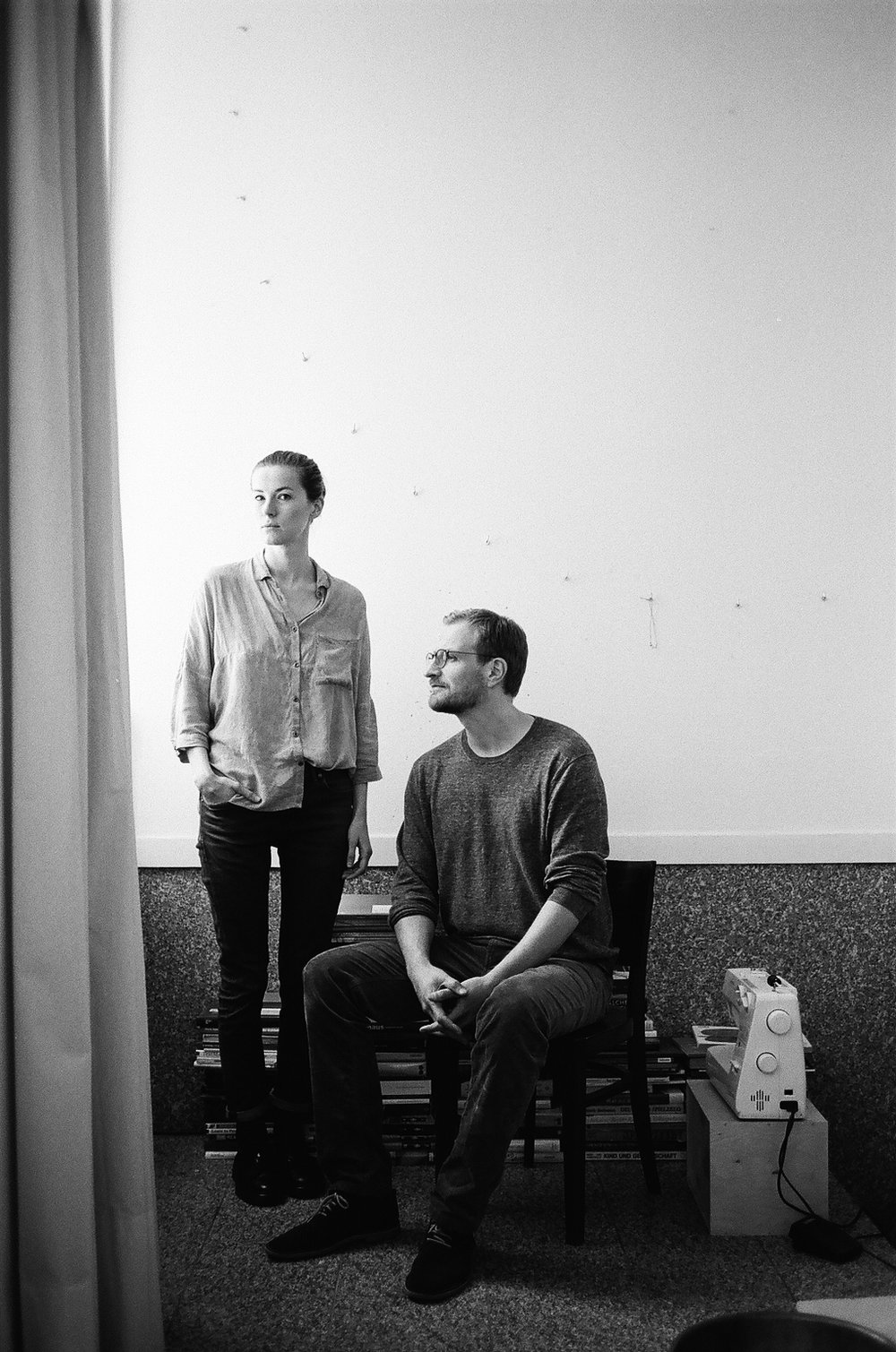 FOUNDERS: JUSTYNA ZUBRYCKA AND MATAS PETRIKAS / PHOTO:  SHAI LEVY