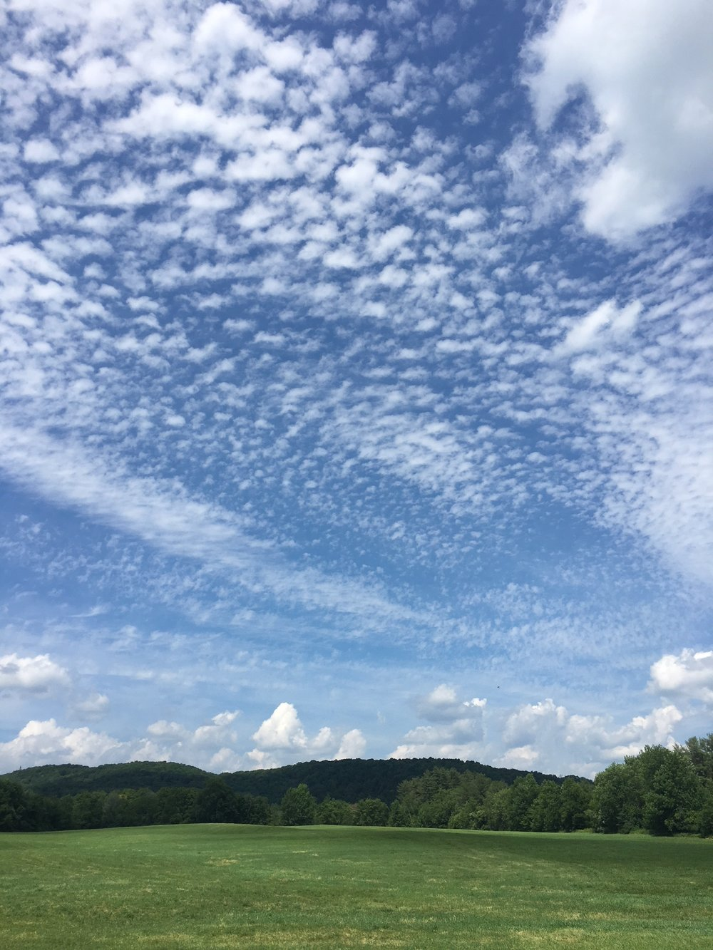 A Vermont cloud photo by Brennen to brighten your day