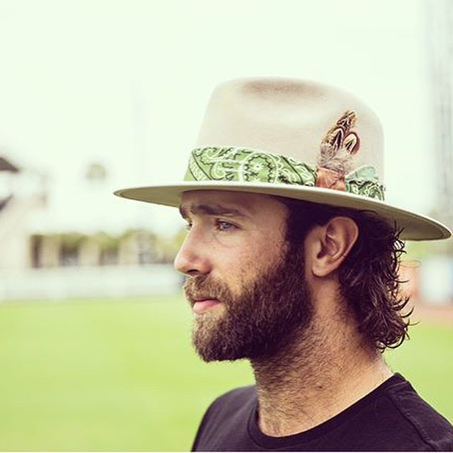 """::Top of the 44th:: """"Custom Medicine Hat for @danielnorris18 in heartfelt collaboration with @thatkidpeep. Just keep livin."""" #hampui #medicine #hats #willeepeep #detroit #tigers #44"""