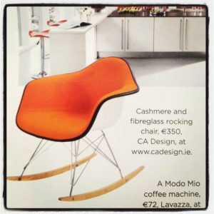CA Design rocking chair