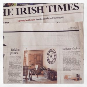 Irish Times Cover March
