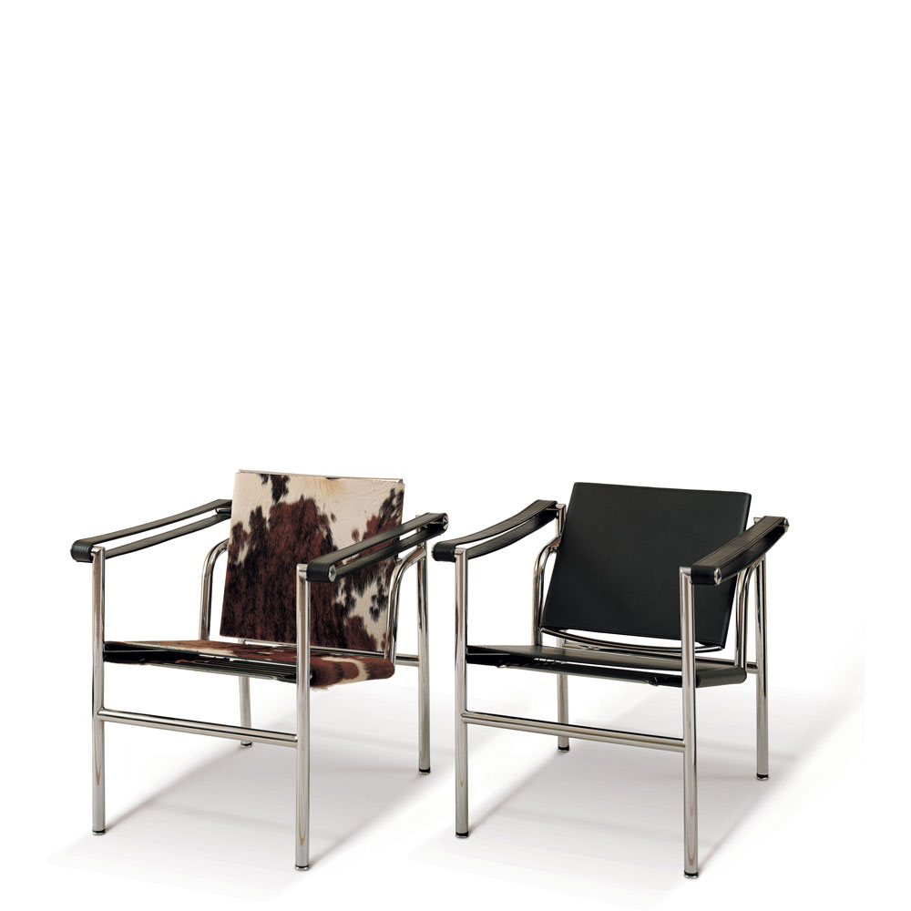 Le Corbusier Style LC1 Sling Back Chair (Ireland Exclusive)