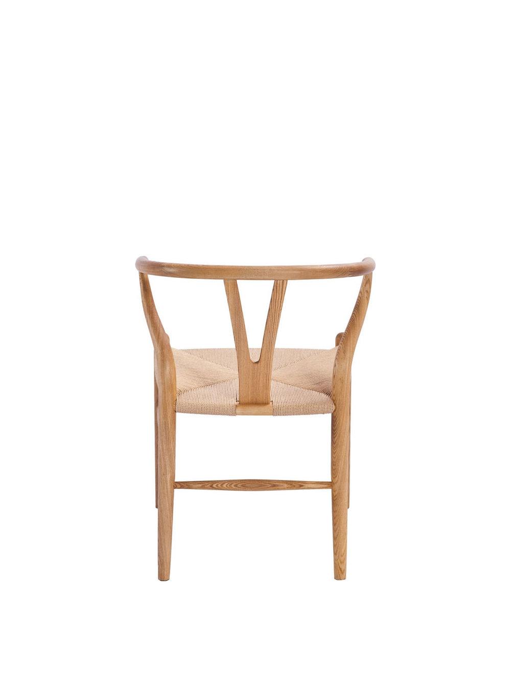 Hans Wegner Style Wishbone Chair Ash (Ireland Exclusive)