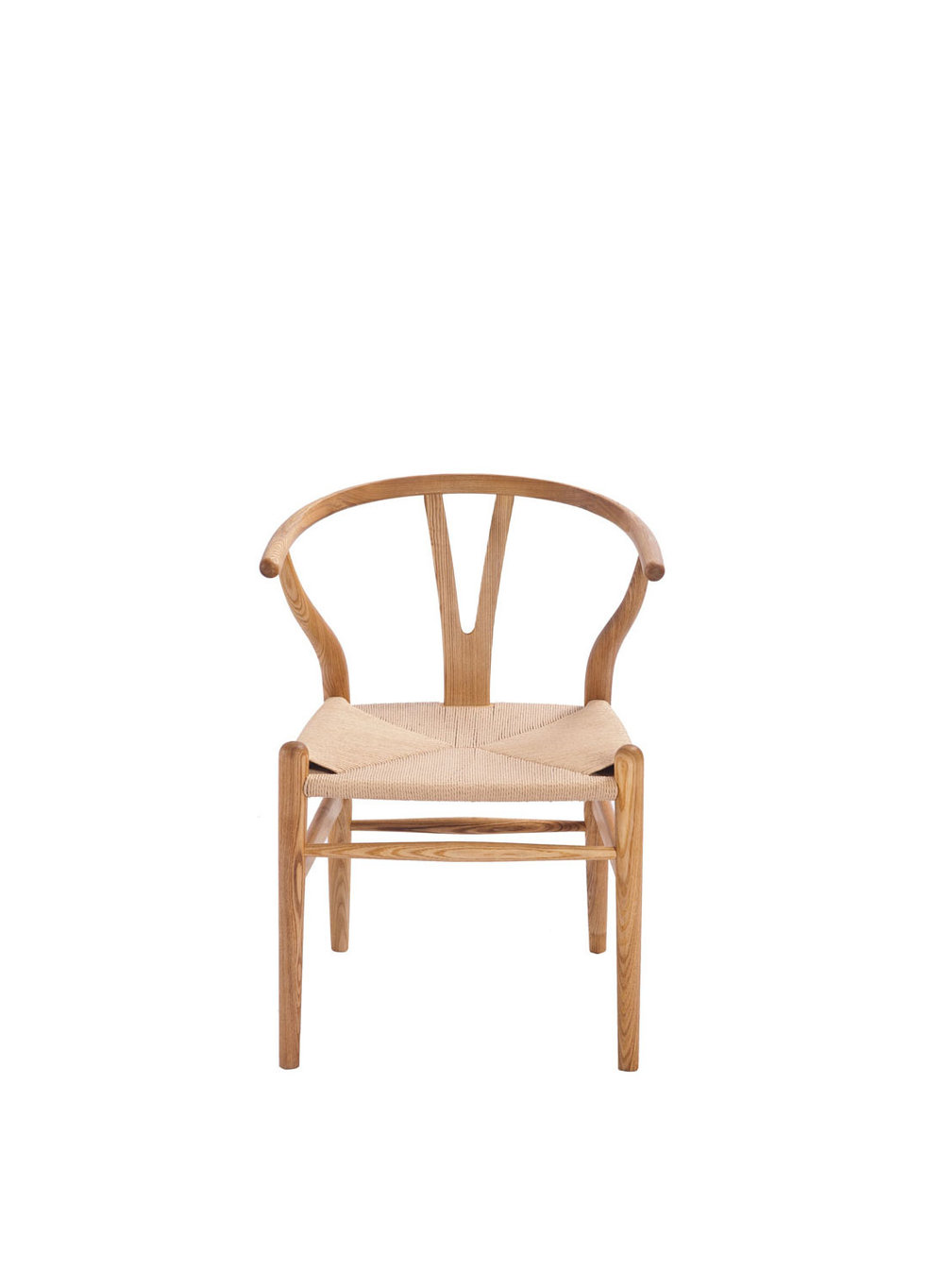 Hans Wegner Style Wishbone Chair Ash (Ireland Exclusive)