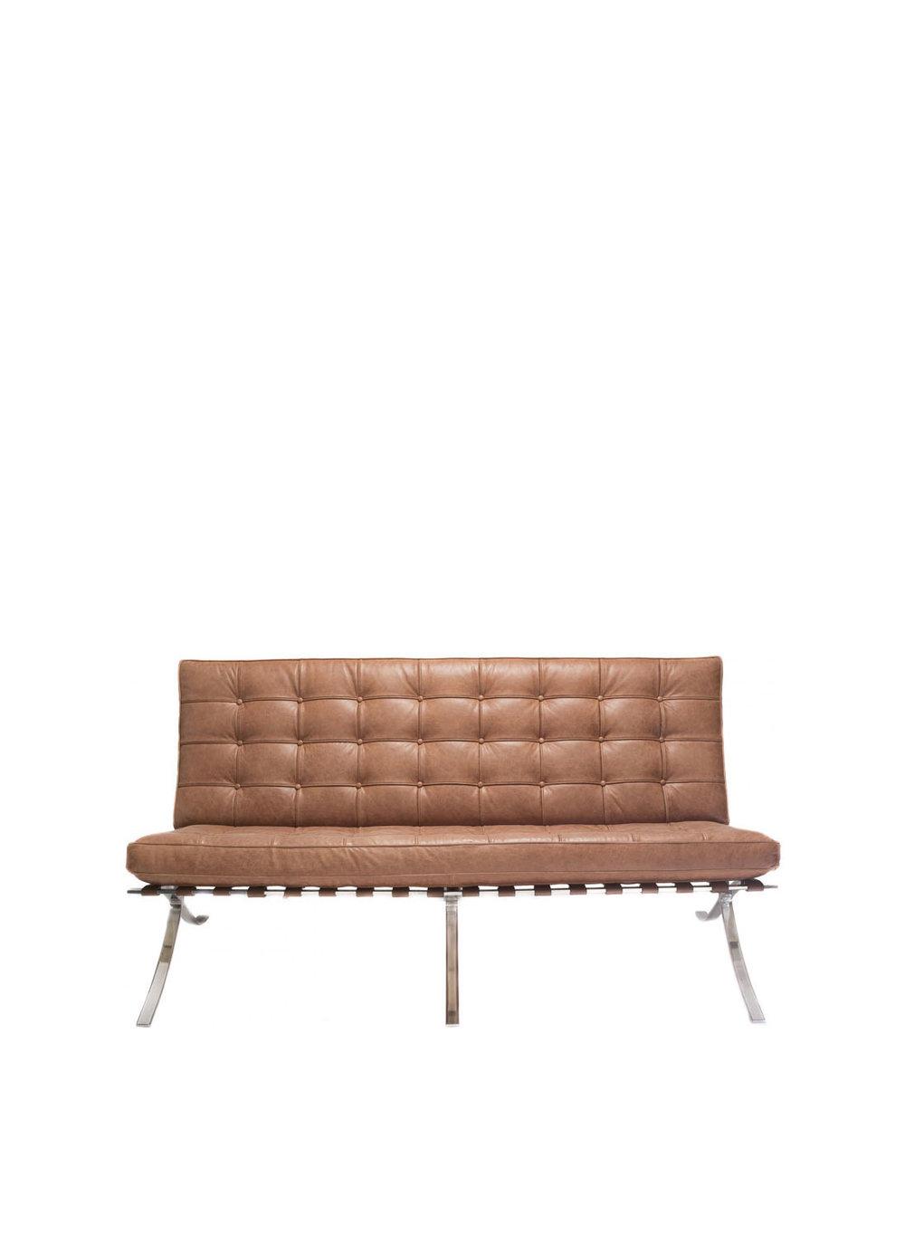 Mies Van Der Rohe Style Barcelona 2 Seater Sofa Ireland Exclusive