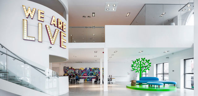 Verve The live Agency   The live events agency is decked out with several pieces including a Noguchi-style sofa in the lobby, a Platner-style dining table, Eames-style DSW chairs in the meeting room and a Noguchi-style coffee table.