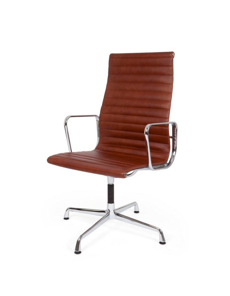 eames ribbed chair tan office. Eames-Style Ribbed Office Chair (Ireland Exclusive) Eames Tan L