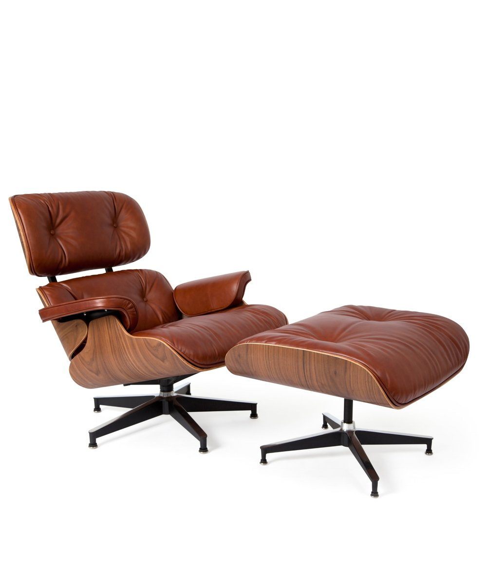 Eames Style Lounger And Ottoman Ireland Exclusive