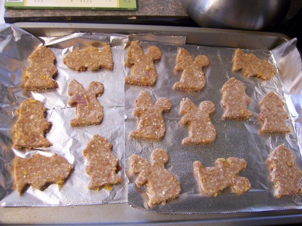 Cheddar Bacon Dog Cookies 1