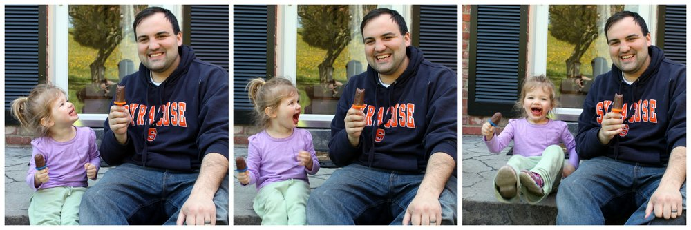 fudge pop with daddy