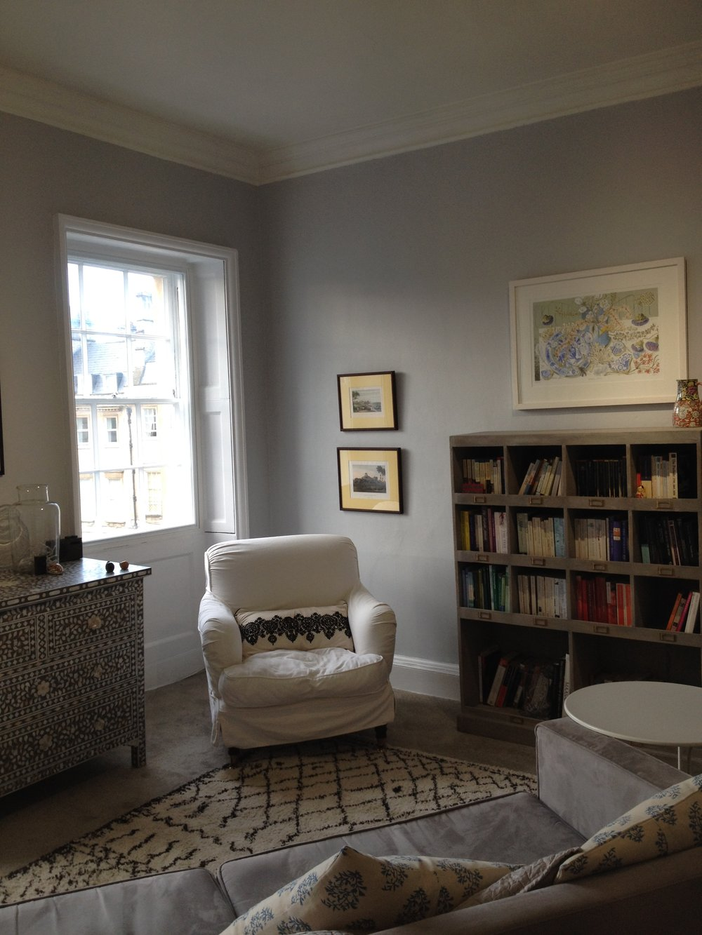 psychotherapy practice room
