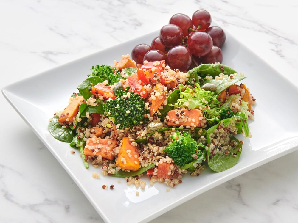 Quinoa Vegetable Salad with Citrus Dressing