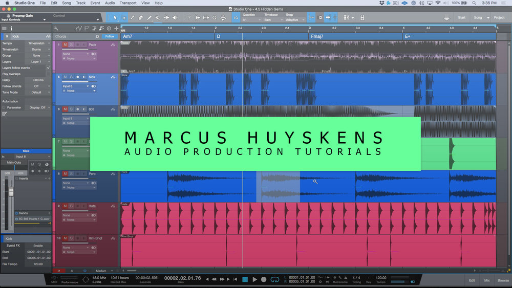 Free Mixing Tutorials — Marcus Huyskens