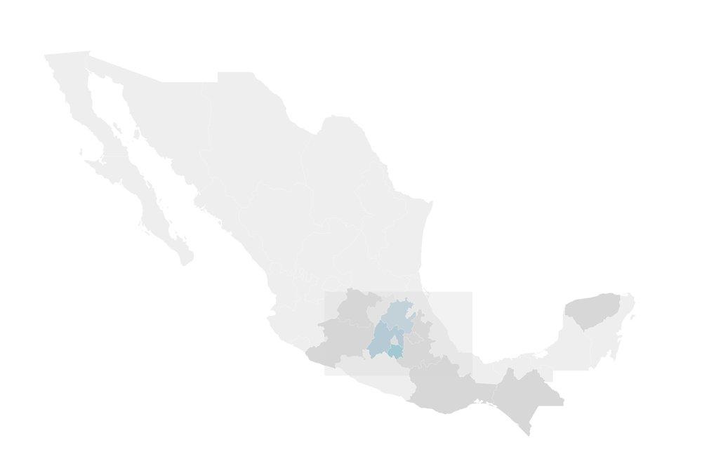 Zona Centro-Oeste - Hidalgo I Estado de Mexico I Morelos